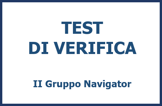 TEST DI VERIFICA II